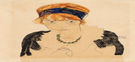 Egon Schiele - Wally